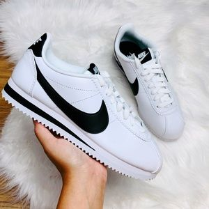 Nike Classic Cortez Leather White Black